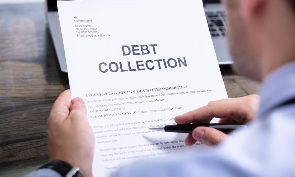 Commercial debt collection agency of choice